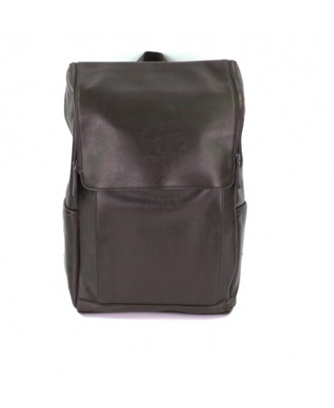 MIYAGI TRAVELLER BACKPACK DARK BROWN