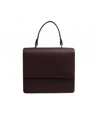 ANNABELLE SATCHEL BORDEAUX