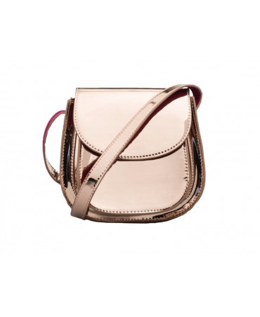 SKYLINE SADDLE BAG ROSE GOLD