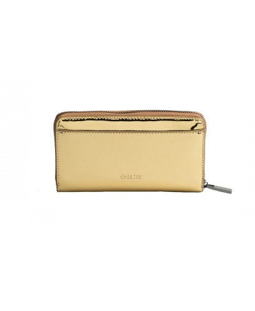 SKYLINE ZIP WALLET GOLD