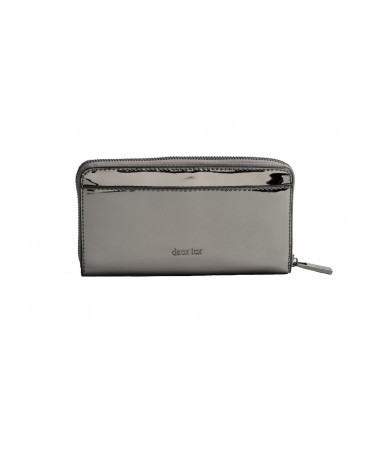 SKYLINE ZIP WALLET GUNMETAL
