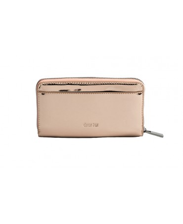 SKYLINE ZIP WALLET ROSE GOLD