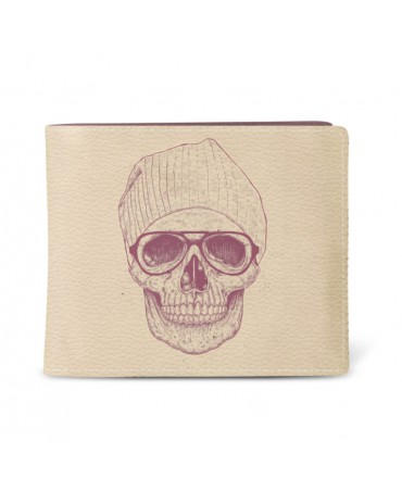 PORTEFEUILLE COOL SKULL